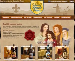 Les bières de la Nouvelle-France - Mauricie, Saint-Alexis-des-Monts