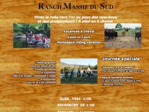 Ranch Massif du Sud - Chaudière-Appalaches, Saint-Philémon (Bellechasse)