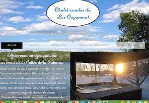 Chalet-condos du Lac Cayamant - Outaouais, Cayamant