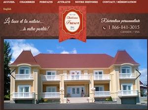 Hôtel château Fraser - Bas-Saint-Laurent, Témiscouata-sur-le-Lac