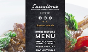 Restaurant L'Académie Brossard - Montérégie, Brossard