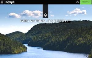 Camping Abijévis (Sépaq) - Abitibi-Témiscamingue, Rouyn-Noranda (Mont-Brun)