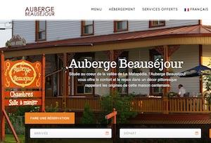 L'Auberge Beauséjour - Gaspésie, Amqui