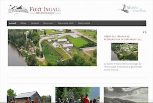 Fort Ingall - Bas-Saint-Laurent, Témiscouata-sur-le-Lac (Cabano)