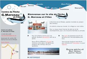 Centre de pêche G. Marceau et filles - Mauricie, Sainte-Anne-de-la-Pérade