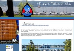 Marina de Ville de La Baie - Saguenay-Lac-Saint-Jean, Saguenay (Saguenay) (V) (La Baie)