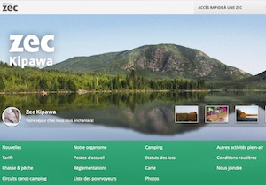 ZEC Kipawa - Abitibi-Témiscamingue, Ville-Marie