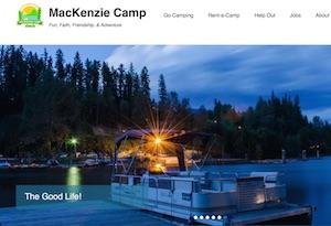 Camp McKenzie - Estrie / Canton de l'est, Municipalité Racine