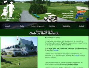 Club de golf Malartic - Abitibi-Témiscamingue, Malartic