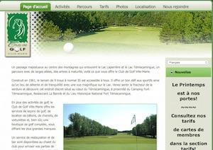 Club de golf Ville-Marie - Abitibi-Témiscamingue, Ville-Marie
