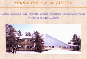 Pourvoirie du Lac Faillon - Abitibi-Témiscamingue, Senneterre