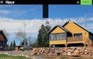 Camp Mercier , Réserve faunique des Laurentides (Sépaq) - Saguenay-Lac-Saint-Jean, Saguenay (Saguenay) (V) (Chicoutimi)