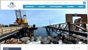 Ciment Mcinnis - Gaspésie, Port-Daniel - Gascons