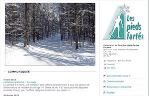 Les pieds fartés (Club de ski) - Abitibi-Témiscamingue, Amos