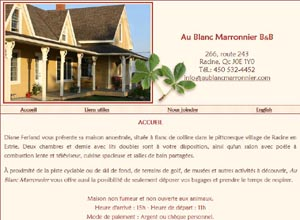 Au Blanc Marronnier B&B - Estrie / Canton de l'est, Racine