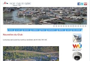 Yacht Club de Québec - Capitale-Nationale, Ville de Québec (V) (Sainte-Foy)