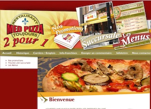 Restaurant Med Pizza - Saguenay-Lac-Saint-Jean, Alma (Lac-St-Jean)