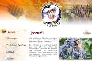 Le petit Jardin de l'abeille - Gaspésie, Maria