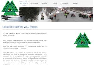 Club Quad de la Mrc du Val St-François - Estrie / Canton de l'est, Ville Valcourt