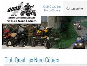 Club Quad VTT Les Nord-Côtiers - Côte-Nord / Duplessis, Sept-Îles