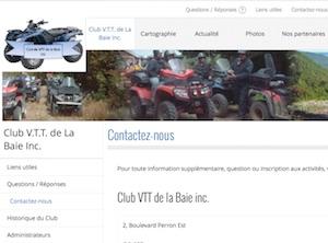 Club VTT de La Baie Inc. - Gaspésie, Caplan