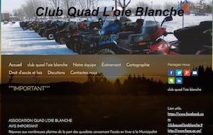 Club Quad de l'Oie Blanche - Chaudière-Appalaches, Islet (Côte-du-Sud)