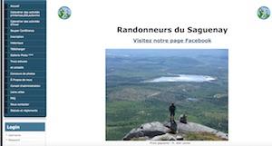 Randonneurs du Saguenay - Saguenay-Lac-Saint-Jean, Saguenay (Saguenay) (V) (Chicoutimi)