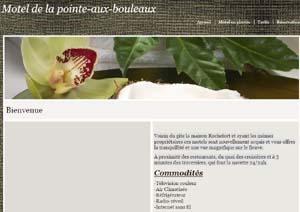 Motel de La Pointe Aux Bouleaux - Charlevoix, Baie-Sainte-Catherine