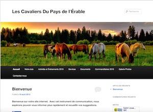 Les Cavaliers du pays de l`Érable Inc. - Chaudière-Appalaches, Saint-Odilon-de-Cranbourne (Beauce)