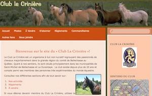 Club la Crinière Inc. - Chaudière-Appalaches, Saint-Michel (Bellechasse)