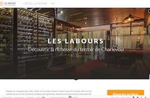 Restaurant Les Labours (Hotel la Ferme) - Charlevoix, Baie-Saint-Paul
