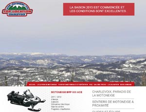 Top Location (Motoneige Charlevoix) - Charlevoix, La  Malbaie