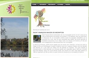 Municipalité de Saint-François-Xavier de Brompton - Estrie / Canton de l'est, Saint-François-Xavier-de-Brompton