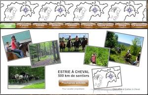 Estrie à cheval - Estrie / Canton de l'est, Ville Valcourt