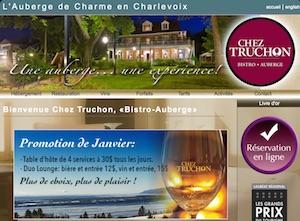 Bistro Auberge chez Truchon - Charlevoix, La  Malbaie (Pointe-au-Pic)