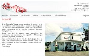 À la Nouvelle Vague - Gaspésie, Les Méchins