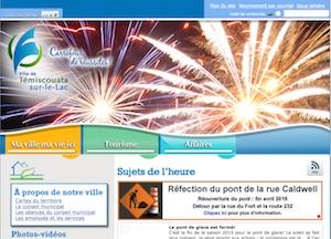 Ville de Témiscouata-sur-le-Lac - Bas-Saint-Laurent, Témiscouata-sur-le-Lac