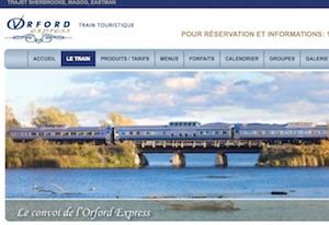 Train ORFORD EXPRESS - Estrie / Canton de l'est, Sherbrooke