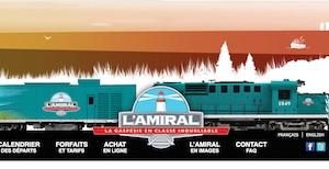 Train touristique L'Amiral - Gaspésie, Ville de Gaspé