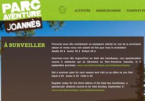 Parc aventure Joannès - Abitibi-Témiscamingue, Rouyn-Noranda