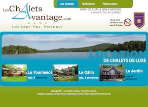 Les Chalets Avantage - Capitale-Nationale, Saint-Raymond