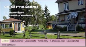 Gite des P'tites Madames - Bas-Saint-Laurent, Sainte-Hélène