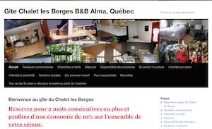 Gîte Chalet les Berges - Saguenay-Lac-Saint-Jean, Alma (Lac-St-Jean)