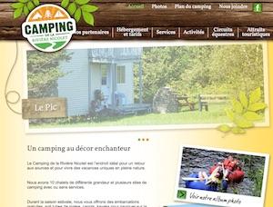 Camping Rivière Nicolet - Estrie / Canton de l'est, Wotton