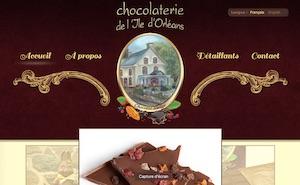 Chocolaterie de l'Île d'Orléans - Capitale-Nationale, Sainte-Pétronille-de-l'Île-d'Orléans