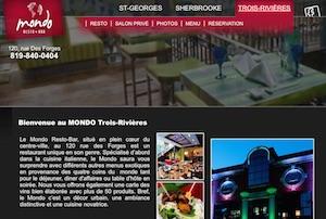 Restaurant Mondo resto-bar - Mauricie, Trois-Rivières