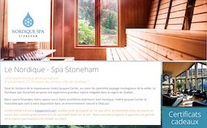 Le Nordique spa Stoneham - Capitale-Nationale, Stoneham