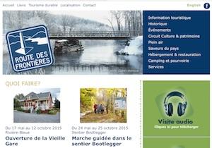 Route des Frontières - Bas-Saint-Laurent, Rivière-Bleu