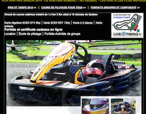 KCR Karting - Capitale-Nationale, Chateau-Richer