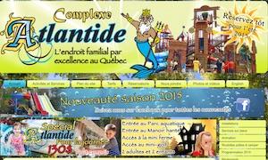 Camping Familial Altantide (parc aquatique atlantide) - Lanaudière, Saint-Calixte